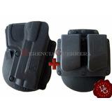 Funda Houston Bersa Glock Browning Beretta + Porta Cargador