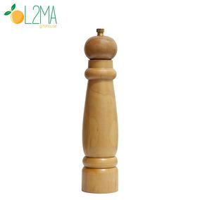 Moedor De Pimenta E Sal Grosso Madeira Cerâmica Ou Inox 21cm