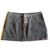 Mango Falda Jeans Mujer Talla 36