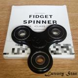 Spinner Fidget Abs Ceramica Spiner- Negro - 2min