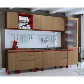 Cozinha Modulada Kappesberg New Urban 17 Com 10 Portas E 6 G