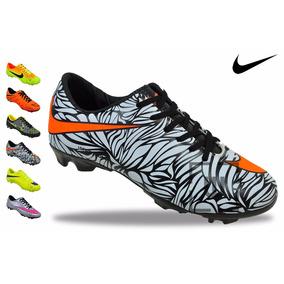 Chuteira Campo Nike Cores Mercurial Fretegratis + Brinde N3*