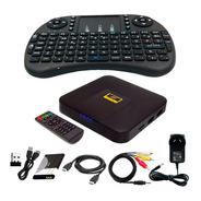 Convertidor Smart Tv Convertir Tv Box Android Teclado Combo