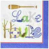 Paperproducts Design Lago Casa Papel Bebidas Servilletas De