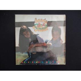 Sandy & Junior - Aniversário Do Tatu - 1991 - Lp