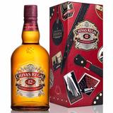 Whisky Chivas Regal 12 C/lata Globetrotter Envio Gratis Caba
