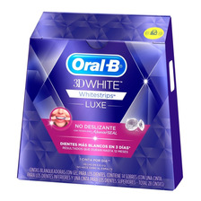 14 Sobres Tiras Blanqueador Oral-b Whitestrips Advanced Seal