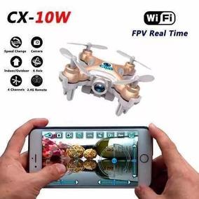 Mini Micro Nano Drone Cheerson Cx-10w C Câmera Hd 720p Fpv