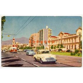 Postal Automovil Colectivo Avenida O