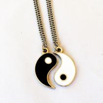 Cordão Yin Yang - Presente De Natal Namorados Laços