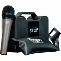 Microfone Staner Dinâmico St-78 - Ac1030