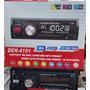 Reproductor De Carro Mp3 Usb Sd, Aux, Radio + Control Remoto