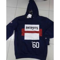 Blusa Moleton New Era Patriots Nfl Modelo Original