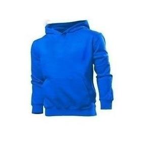 Blusa Moleton Masculino Liso (sem Estampa) Canguru Xg-xg1-