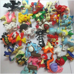Kit Coleção Lote Pokémon 50 Bonecos Miniaturas 2~3cm
