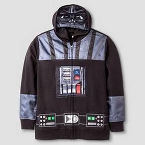 Star Wars Darth Vader Sudadera Chamarra Niño X L Disfraz