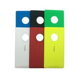 Tampa Traseira Bateria Color Nokia Lumia 830 + Capa Silicone