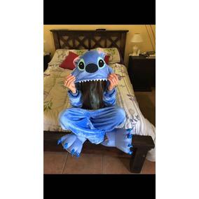 Pijama De Polar Stitch Talle S Y M Nuevo Importado Original