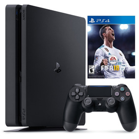 Playstation 4 Ps4 Slim 1tb + Fifa 18 - Sniper Game