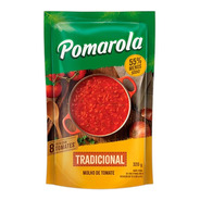 Molho De Tomate Tradicional Pomarola Sem Glúten Sachê - 320g