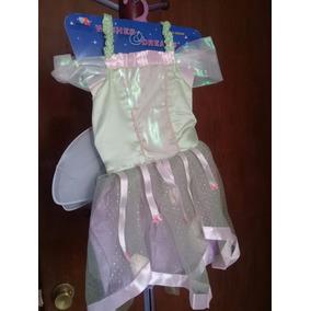 Vestido De Hada Campanita (thinkerbell) Talla Chica