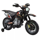 Moto Elétrica Infantil Preta 6v 9260 Belfix