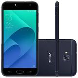Smartphone Asus Zenfone Selfie Novo Preto 16gb Tela De 5,5