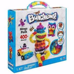 Bolinhas Criativas Coloridas Bunchems Brinquedo Montar 400