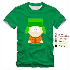 Camisa Infantil Personalizada South Park Animação Kyle