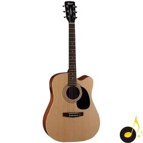 Violão Folk Cort Ad 840 Cf Com Case Garantia Ad840 Nfe