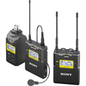 Microfone De Lapela Sem Fio Sony Uwp-d16 Com Transmissor