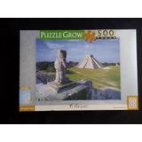 Quebra Cabeça - 500 Peças - Pirâmide Maia - Grow
