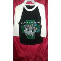 Playera Black Sabbath Heaven And Hell Rara 1980.