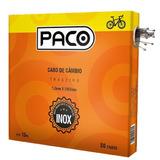 Kit 50 Unidades Cabo Aço De Câmbio Traseiro Bike Inox Paco