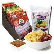 Envío Gratis: Salsa Deshidratada (12pc) + Snack Fruta (6pc)