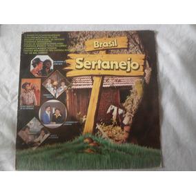 Lp Brasil Sertanejo 1980, Disco De Vinoil Coletãnea