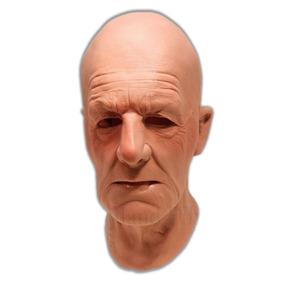 Máscara Espuma Latex Super Realista Homem Velho Profissional