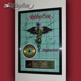 Cuadro Motley Crue Álbum Dr. Feelgood Cd Estilo Oro