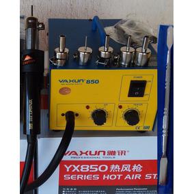 Estação Ar Quente Yaxun 850- Yx850 C/brinde 110v + F.gratis