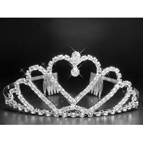 1 Tiara Noiva Pente Strass Coroa Princesa Noiva Casamento
