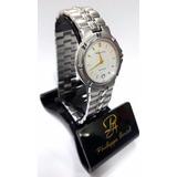 Reloj 6032p Acero Inoxidable Philippe Amiel Maquinaria Suiza