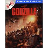 Godzilla 2014 Steelbook Pelicula Bluray + Dvd