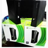 Xbox 360 Slim 500gb+2 Controles+90 Juegos+2 Carga
