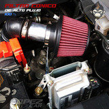 Filtro Cónico Universal Doble Flujo Tuning Auto Camioneta