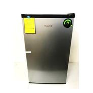Refrigerador Frigobar Hisense 3.3 Pies Cúbicos Plata Ahorro