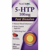 Natrol 5-htp Sublingual 100mg 150tablet Validade: Nov/20