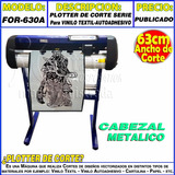 Plotter De Corte Industrial 63cm Moritzu For-630a Vinilos