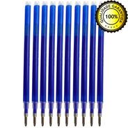 10 Refil Caneta Mágica Fantasminha Tecido Apaga Calor Azul