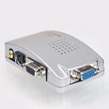 Conversor Vga P Rca + S-video Pc Notebook Tv Telão Projetor