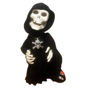 Caveira Dançante Halloweenboneco Terror Musica Fantasia